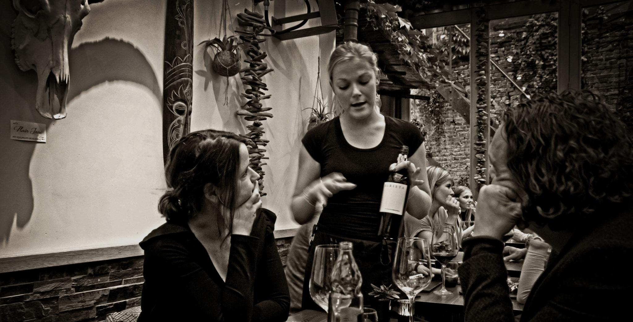 Open wines